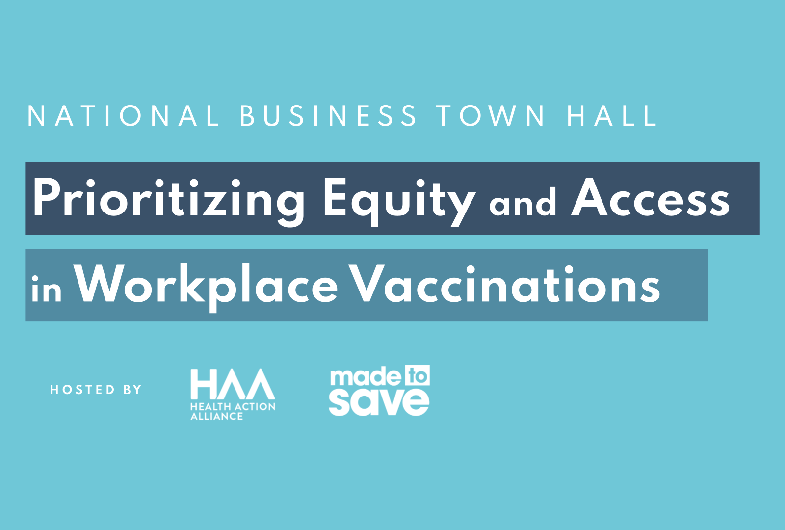 Prioritizing Equity and Access in Workplace Vaccinations