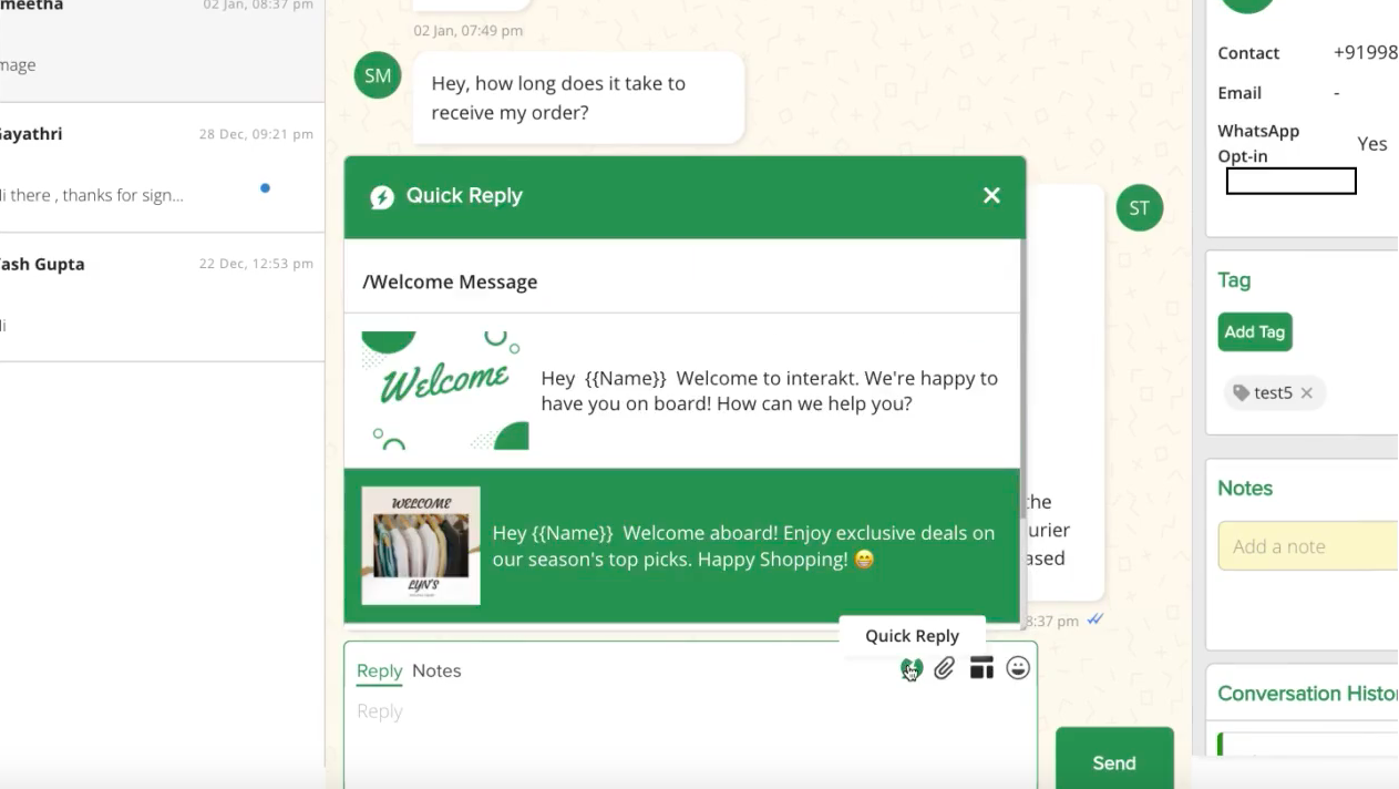 Leveraging WhatsApp Business for E-Commerce