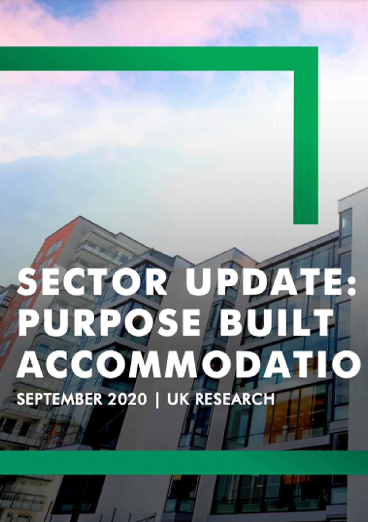 Residential Sector Update: PBSA