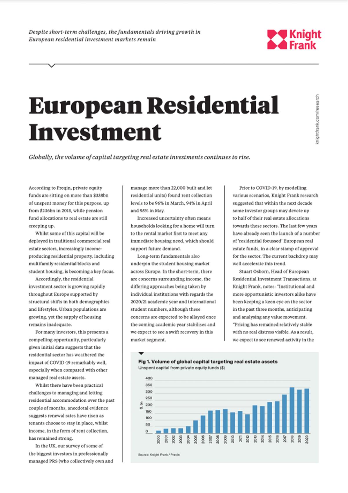 European Residential Investment