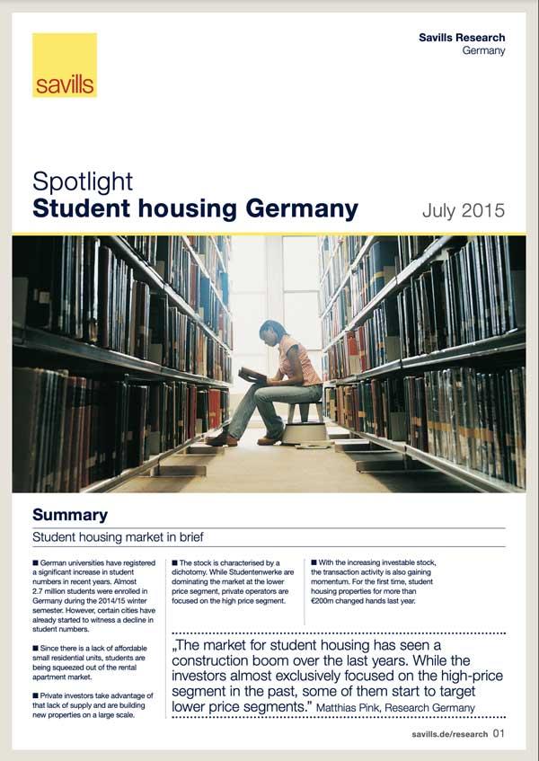 Spotlight: Student Housing DE