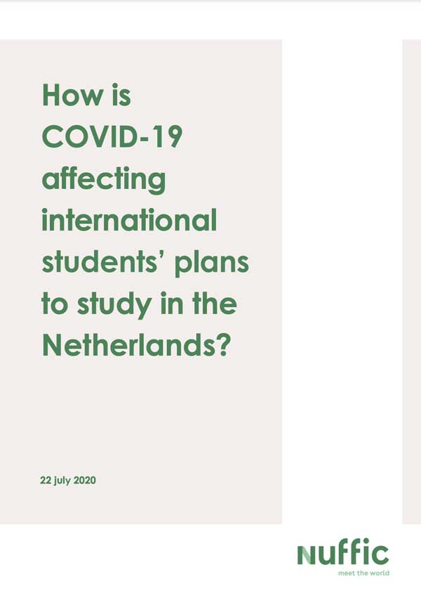 How is COVID-19 affecting international students plans to study in the Netherlands - part 2