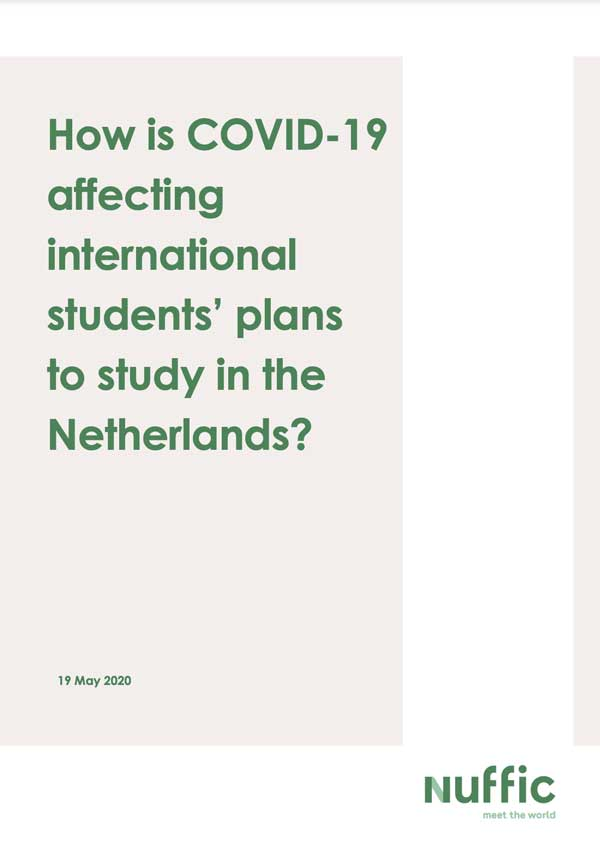 How is COVID-19 affecting international students plans to study in the Netherlands (Part 1)