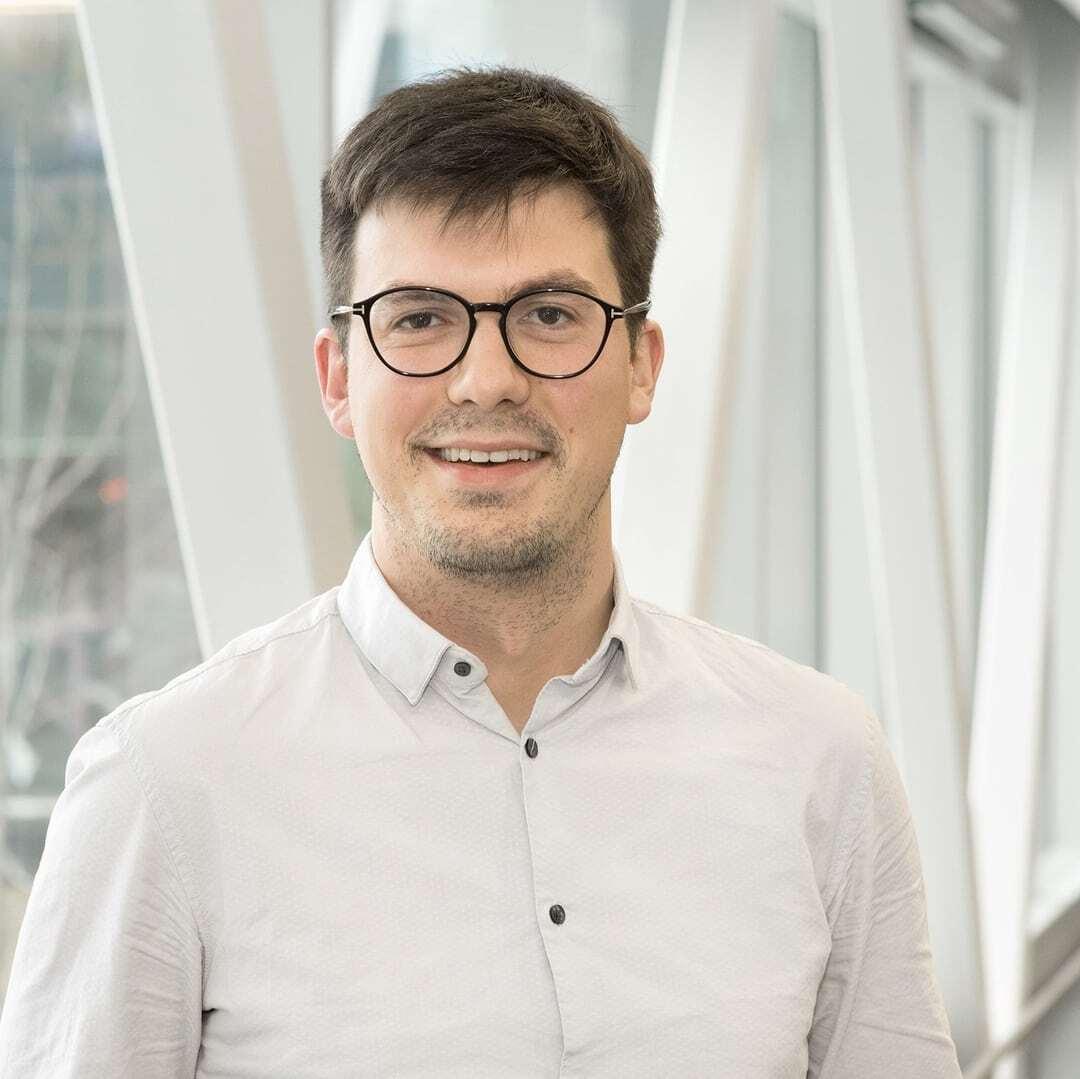 Image of partner Simon Grandjean Lapierre. Hyfe - Creating tools for diagnostics and monitoring