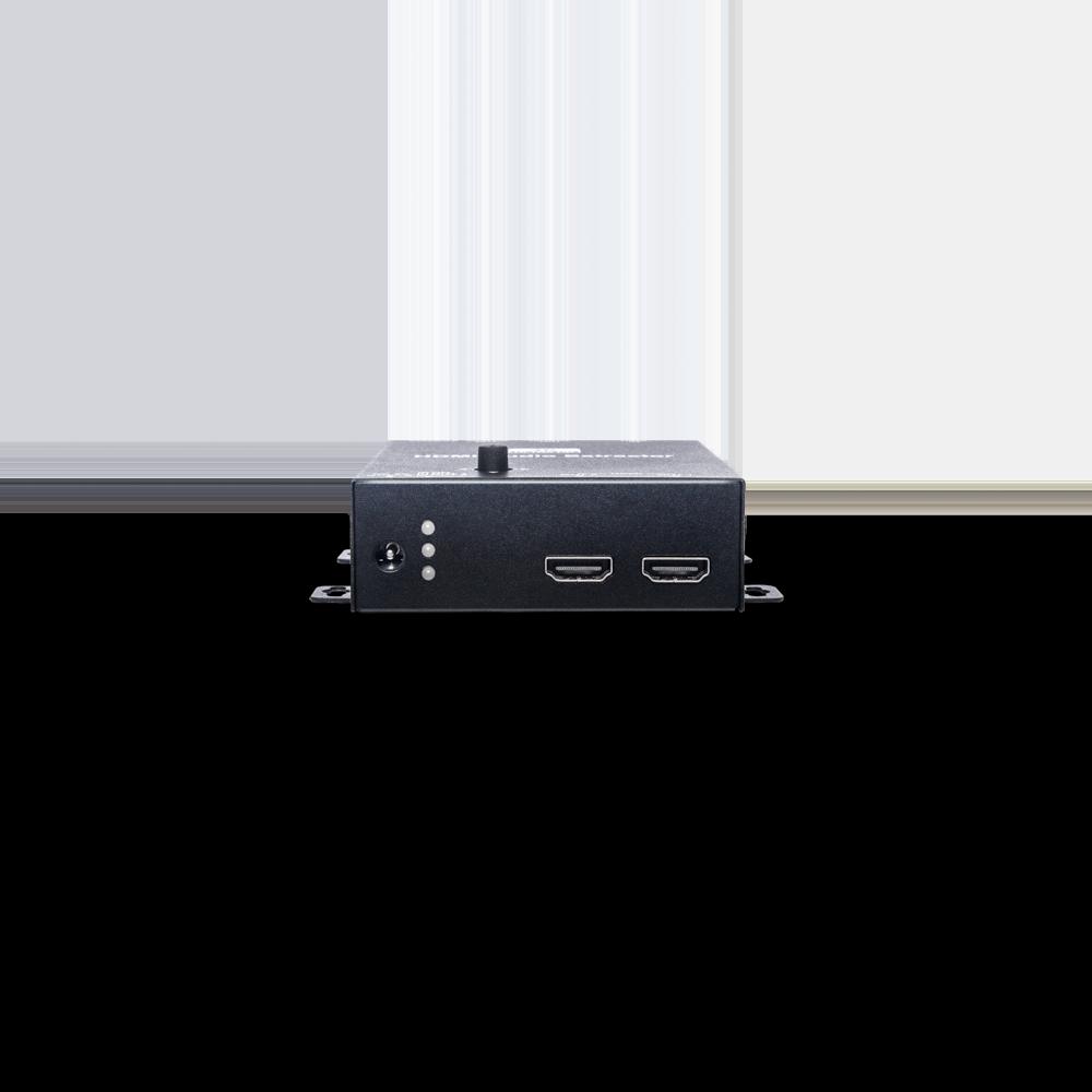 4K60Hz 1进2出HDMI分配器(搭载声音分离及升降频功能)