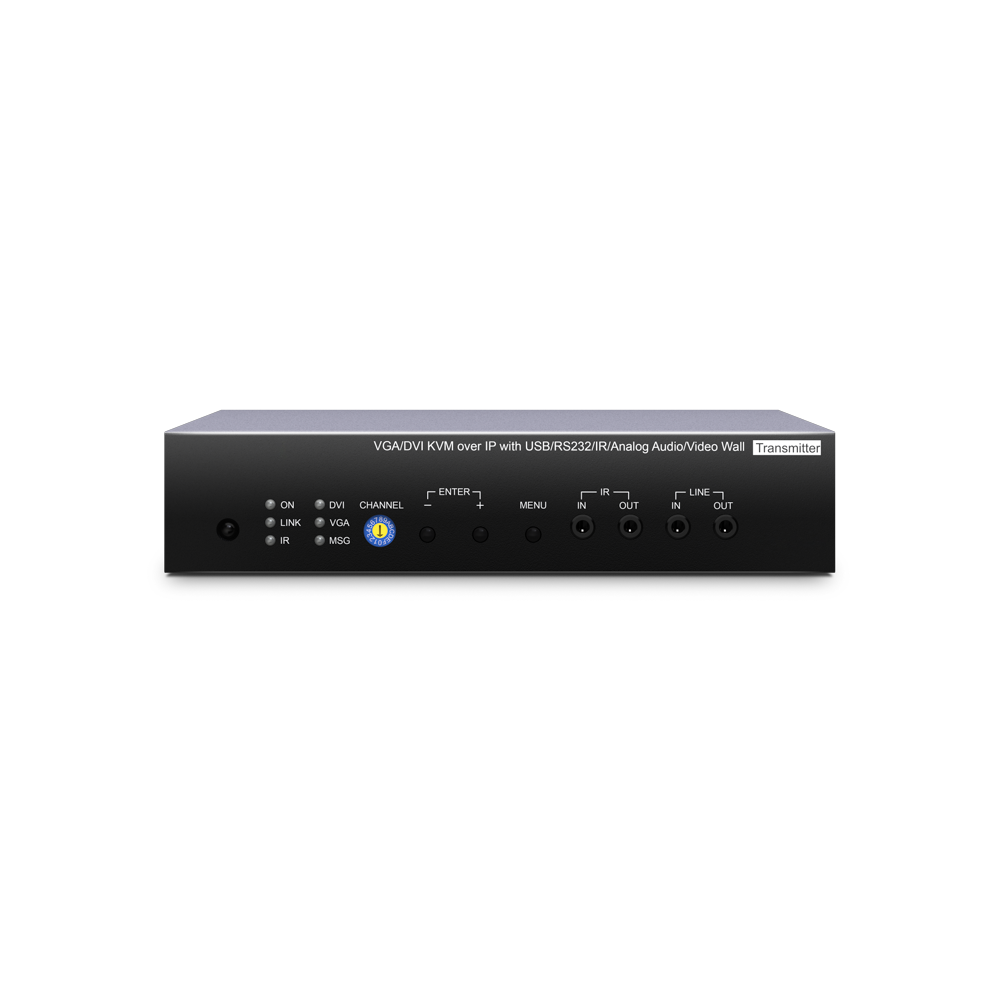VGA/DVI KVM 网络行分布式延长器