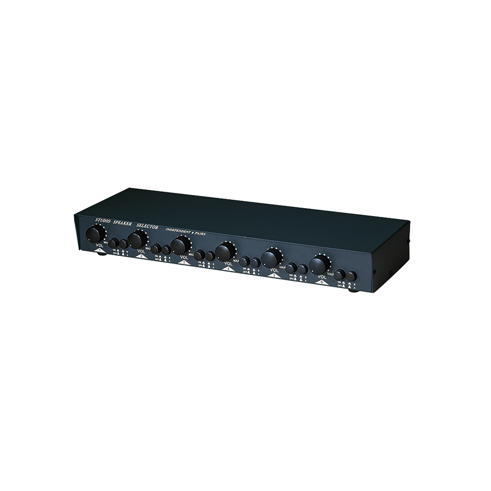 Speaker Selector with Volume Control