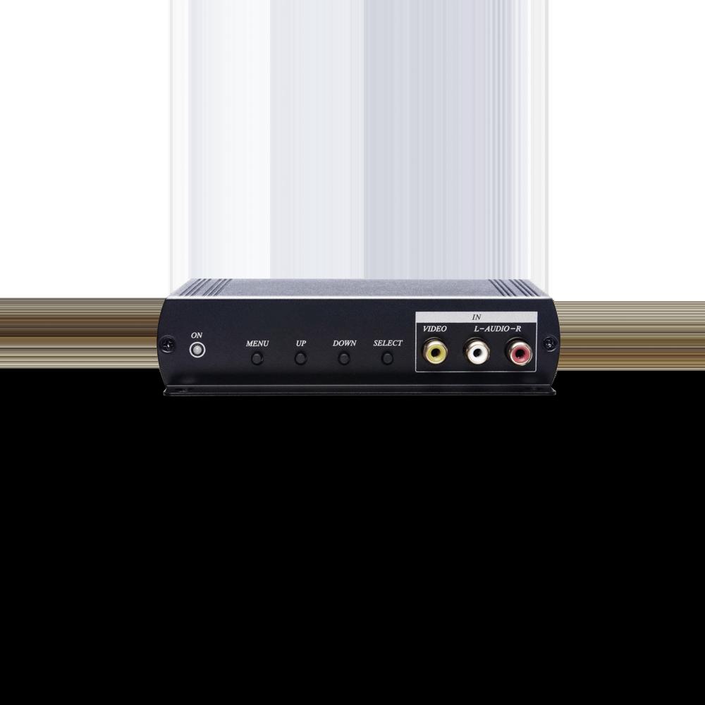 CVBS 转HDMI/VGA影音转换器