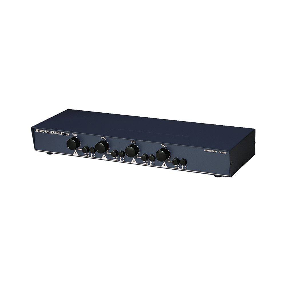 150W 2进4出 扩大机/喇叭选择切换暨声音调节器