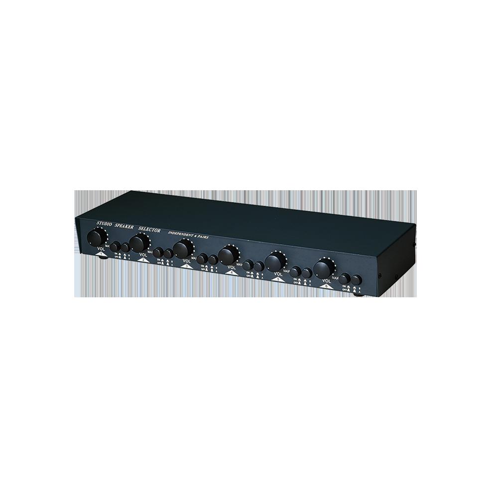 150W 2进6出 扩大机/喇叭选择切换暨声音调节器