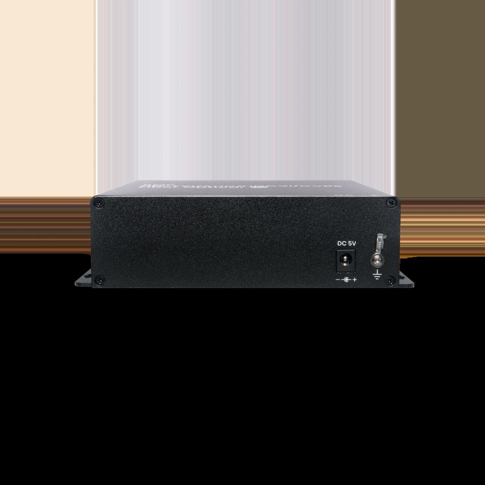 8 端口高清影像及RS485 控制讯号光纤延长器