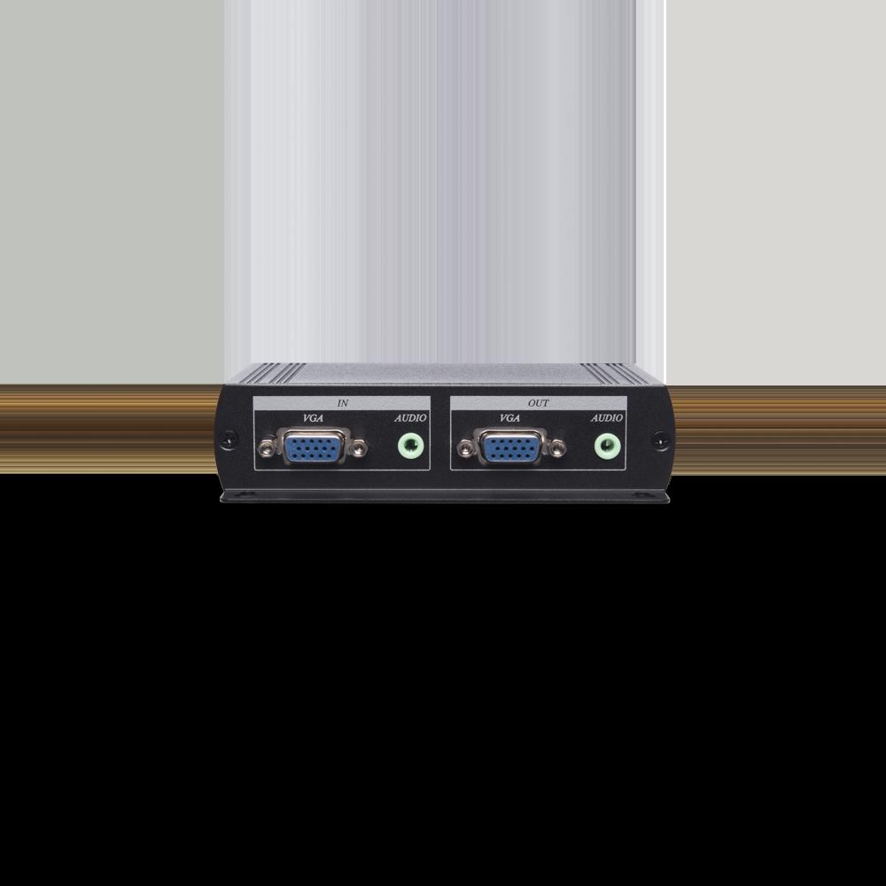 1进3出VGA/声音分配CAT5e 延长器