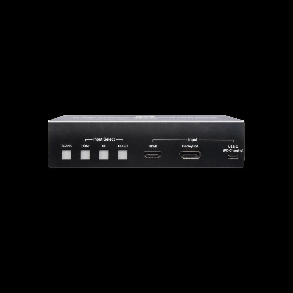 4K 30Hz HDMI/ Display Port/ USB-C 简报切换延长器