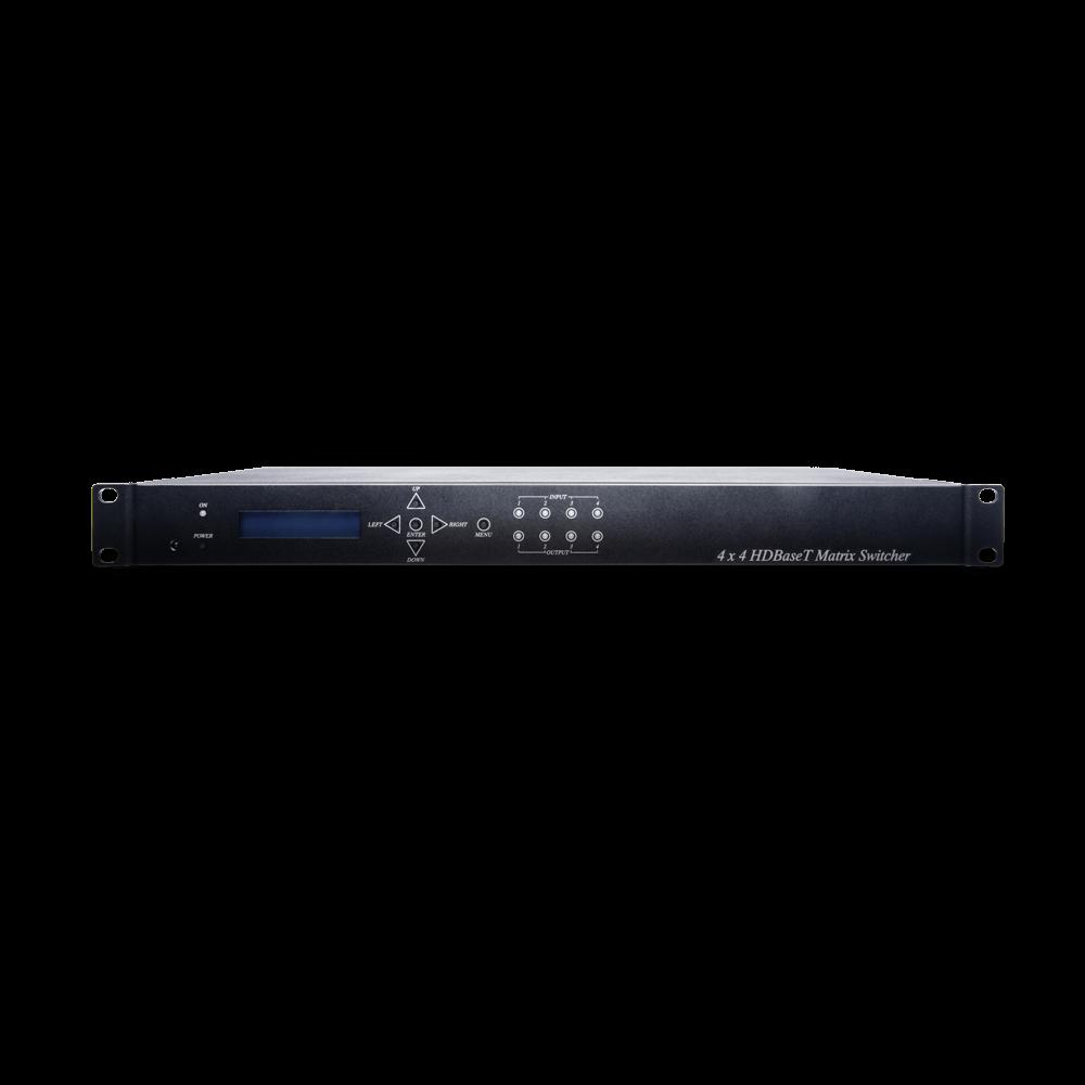 4进4出 HDMI矩阵切换器搭载HDBaseT延长器功能