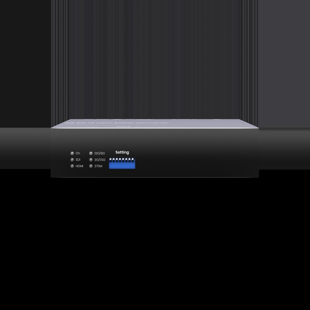 12G-SDI 转HDMI 2.0 影音转换器