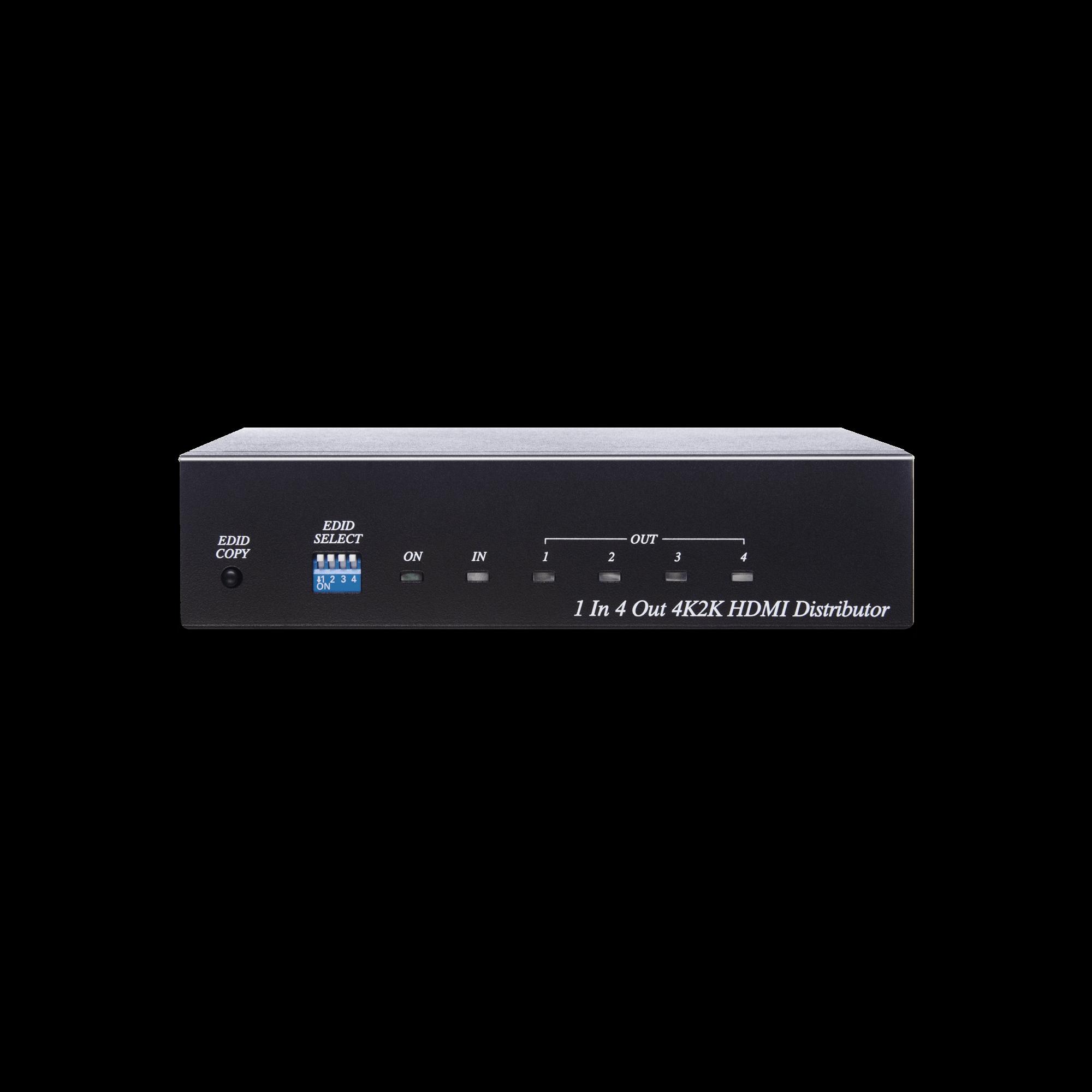 4K60Hz 1 x 4 HDMI Distributor Amplifier