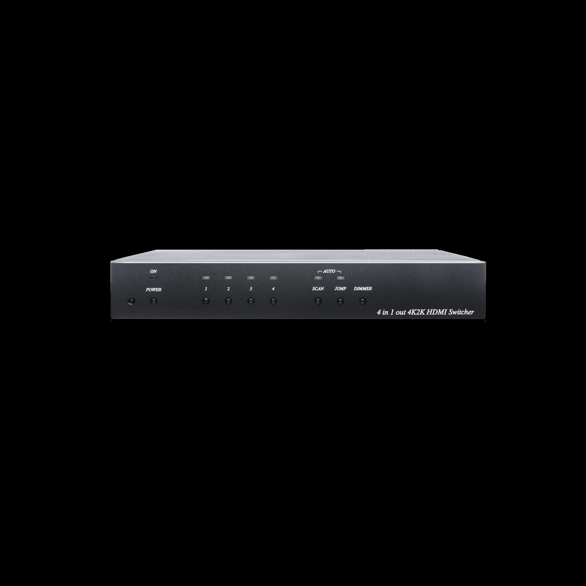 4K 60Hz 4 x 1 HDMI Switcher