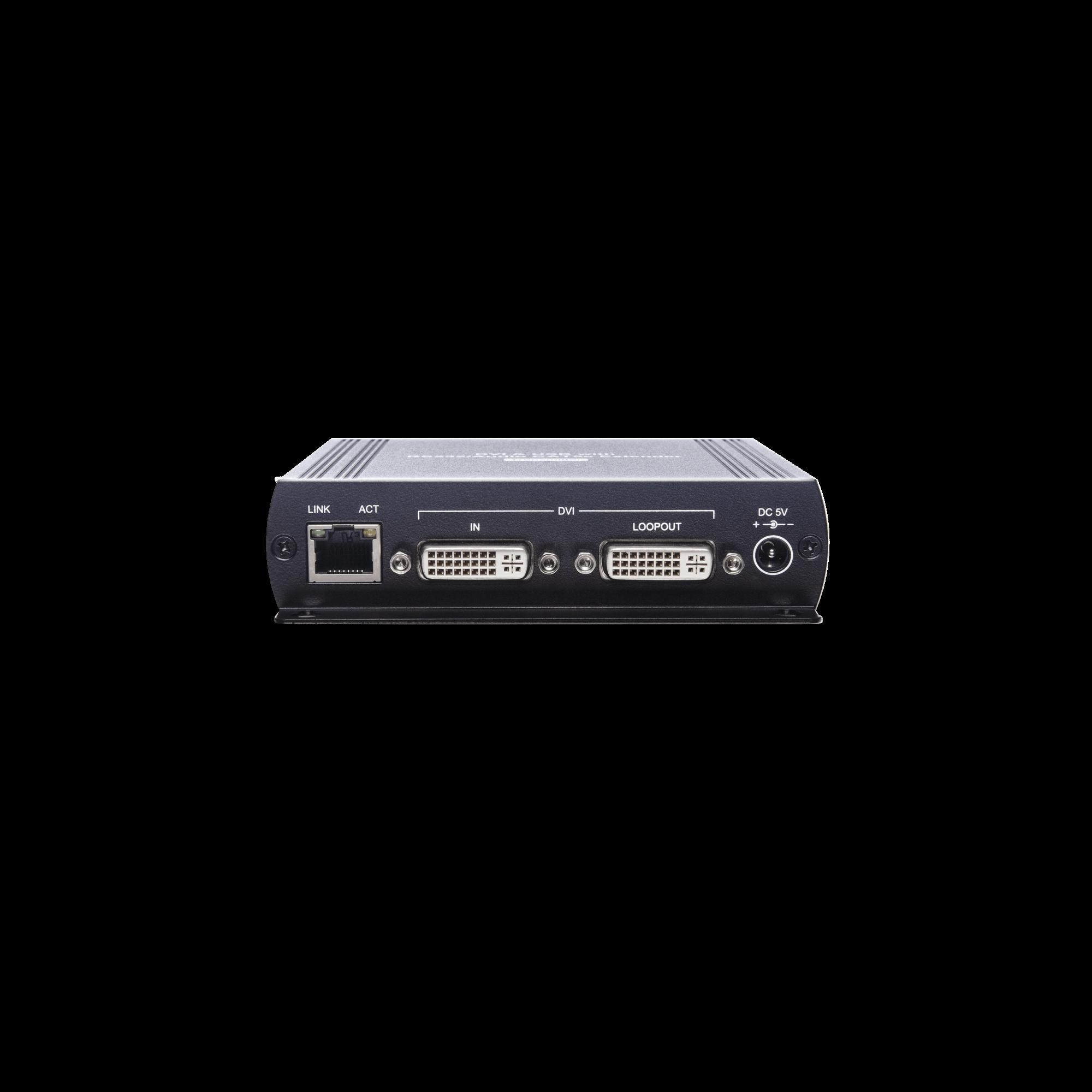 DVI USB/ Audio/ RS232 CAT5e KVM Extender
