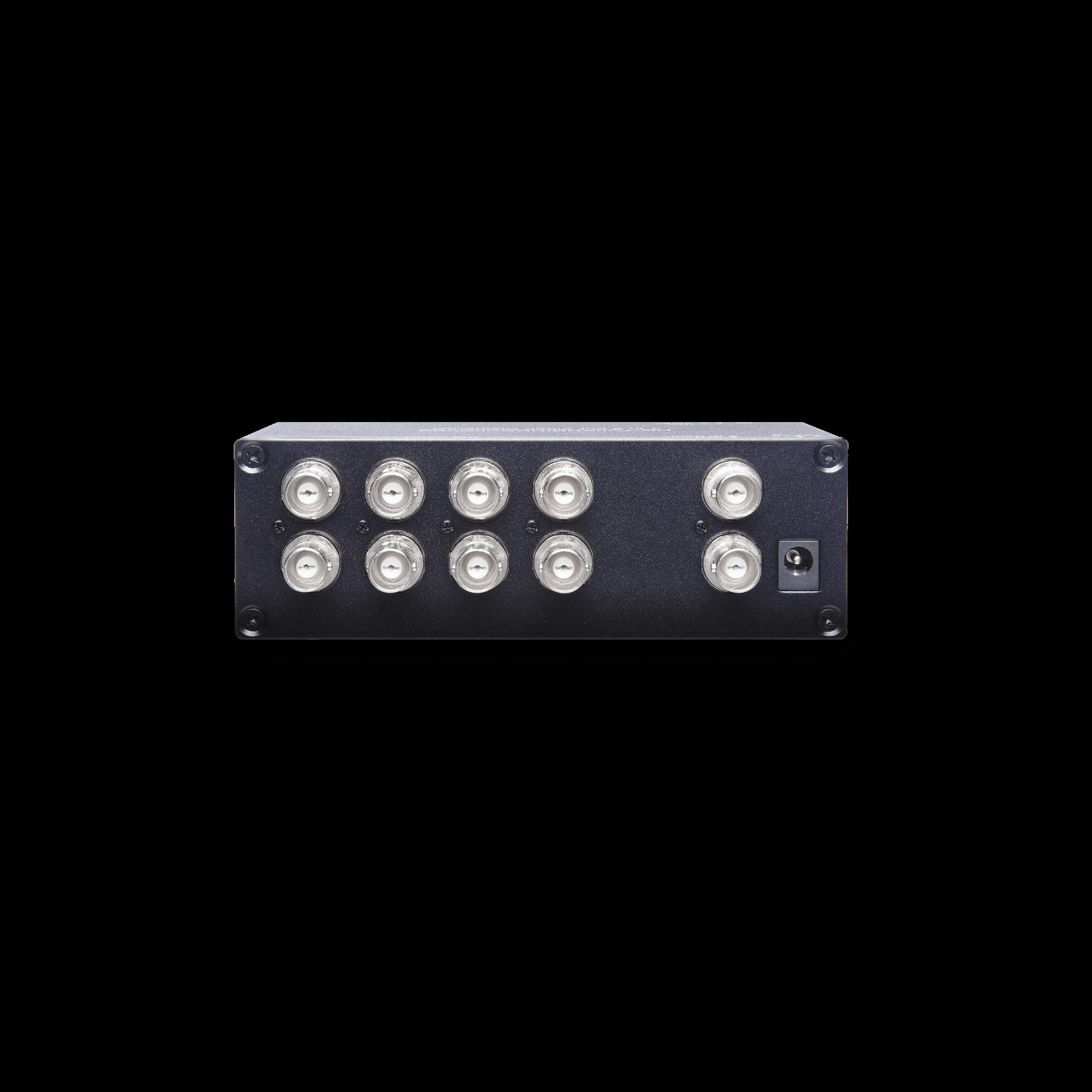 1 x 8 HD-TVI/AHD/HDCVI/CVBS Video Distributor