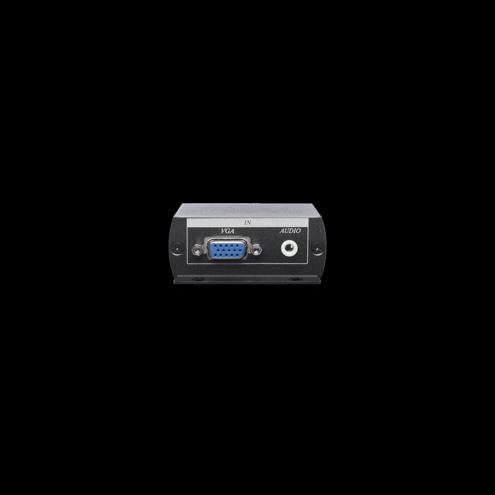 High Resolution VGA & Stereo CAT5e Extender