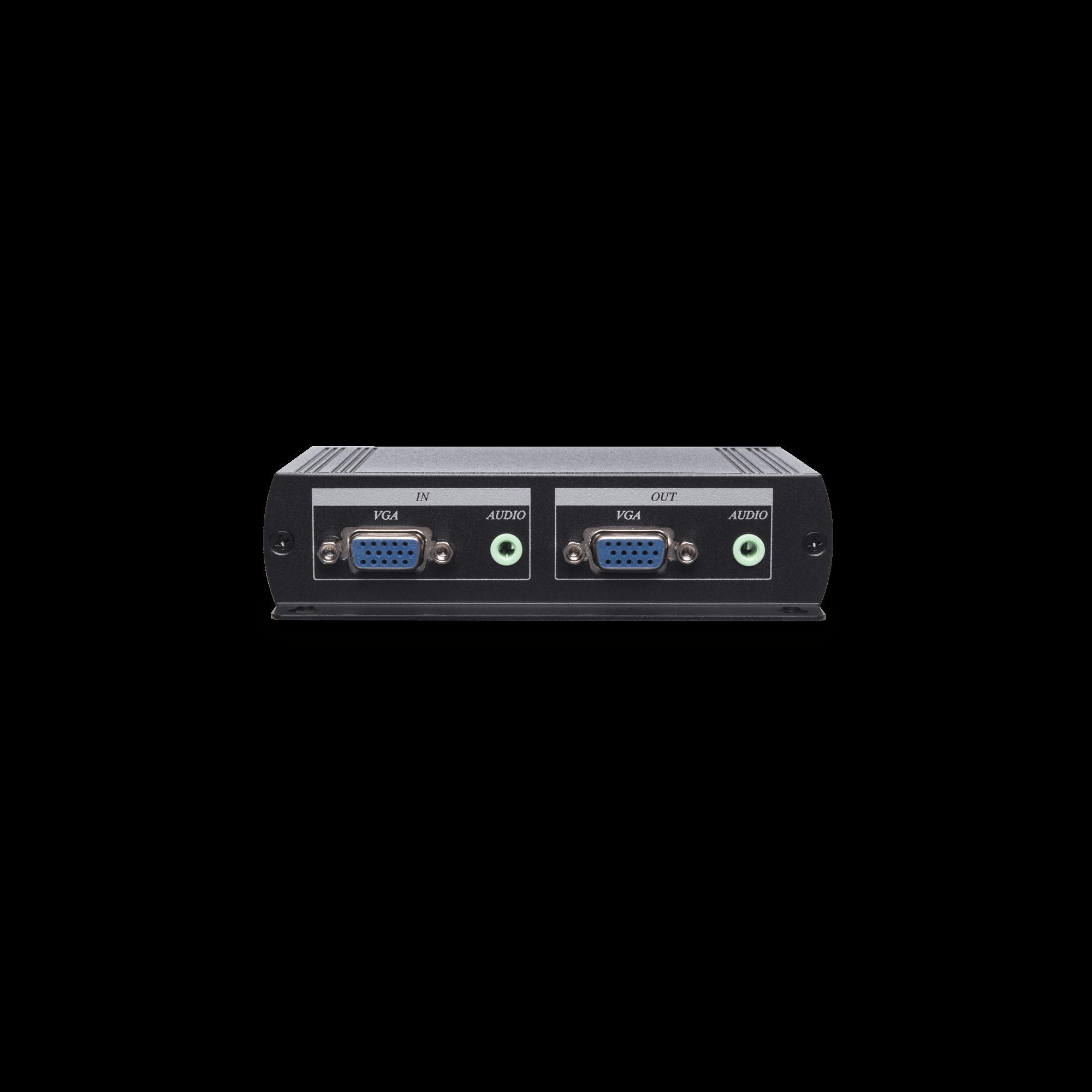 1 x 3 VGA & Stereo Audio Distribution Amplifier CAT5e Extender