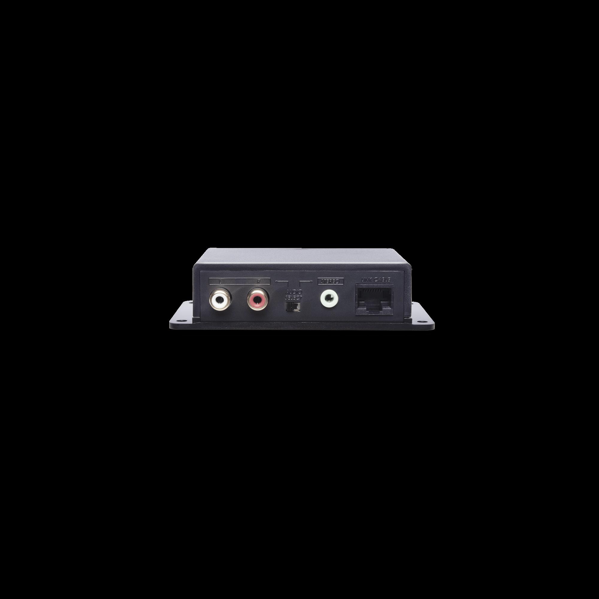 Stereo/Mini Stereo Audio CAT5e Extender