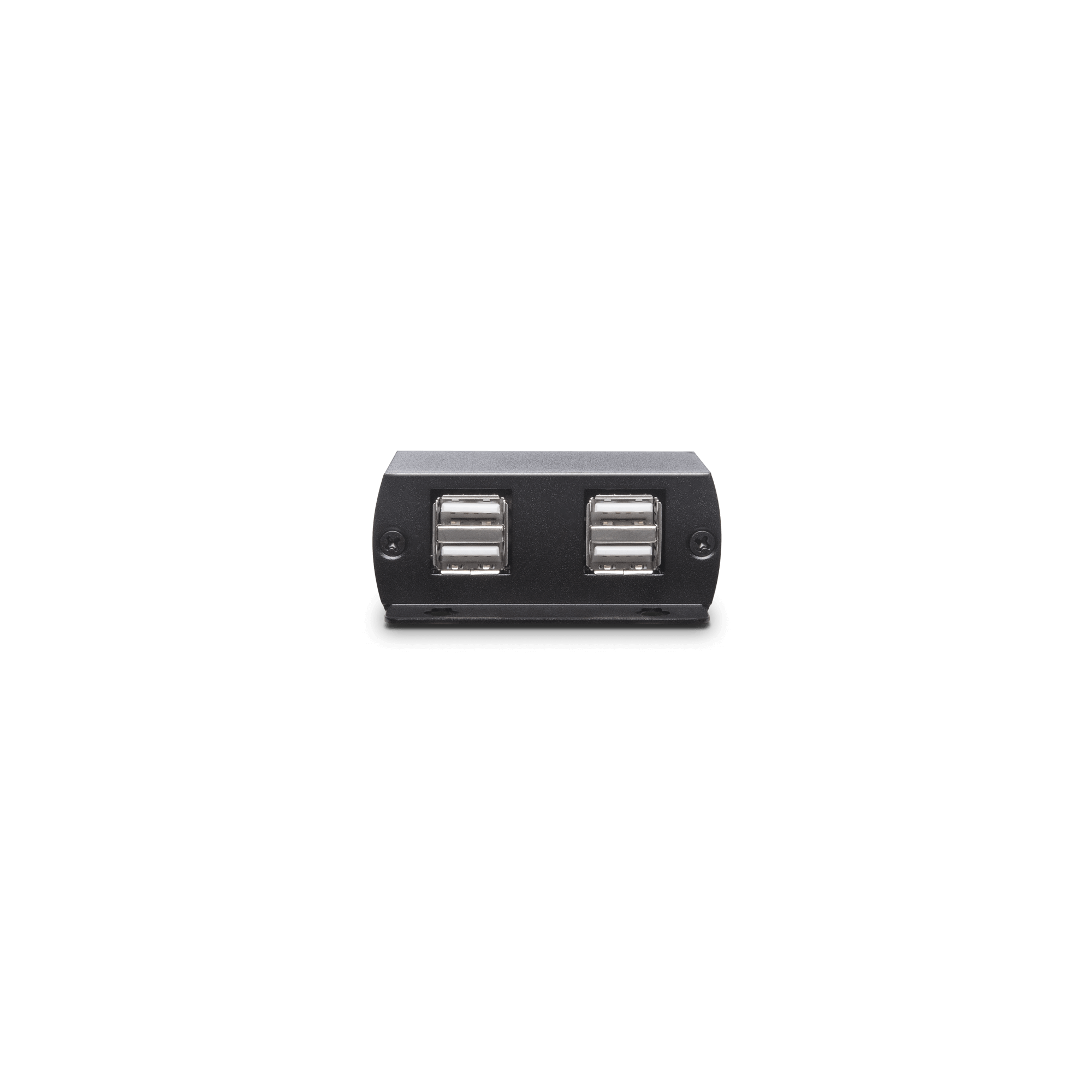 USB 2.0 CAT5e Extender with 4 Port Hub