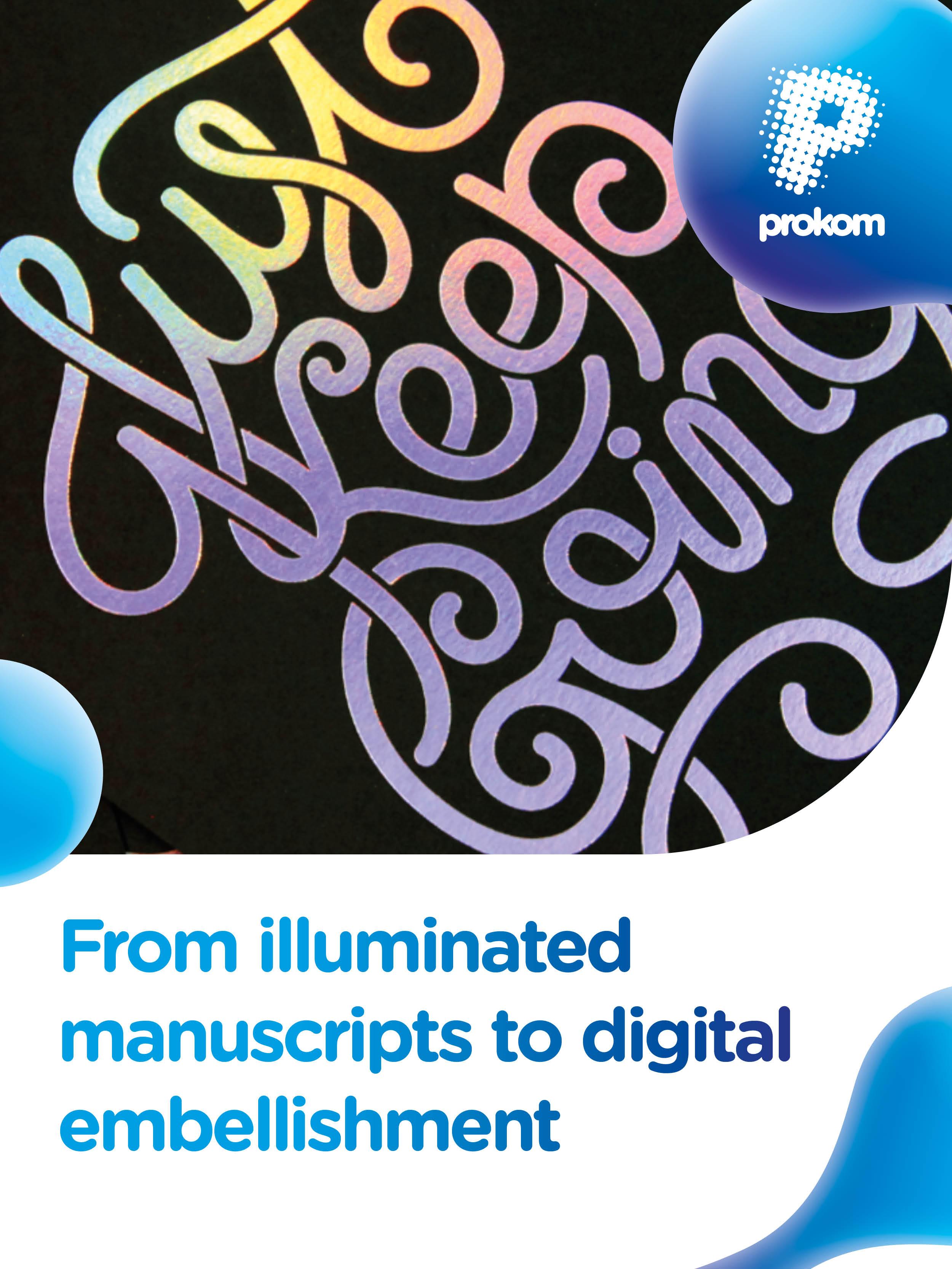 JetPro - from illuminated manuscripts to digital embellishment image