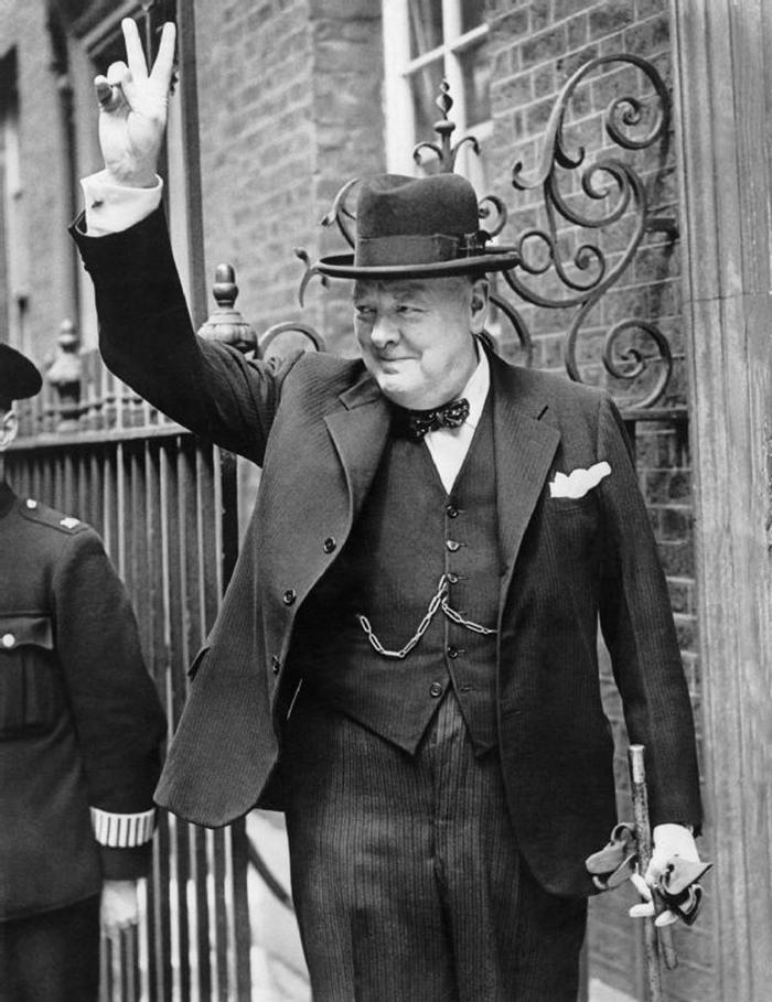 Winston Churchill, May 1943