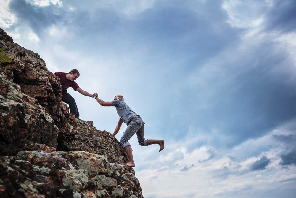 One of the best team building ideas? Learn how to help each other