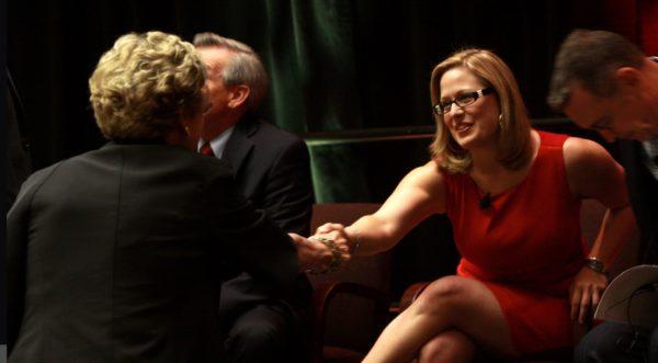 Kyrsten Sinema taking her shot at the US Senate (Video)