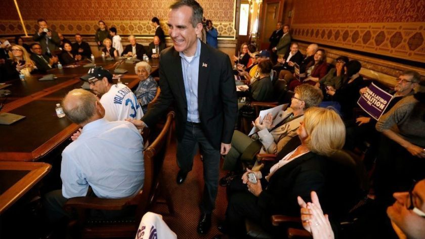 How Garcetti is spreading wealth and influence across the U.S. with his 'Victory Fund'
