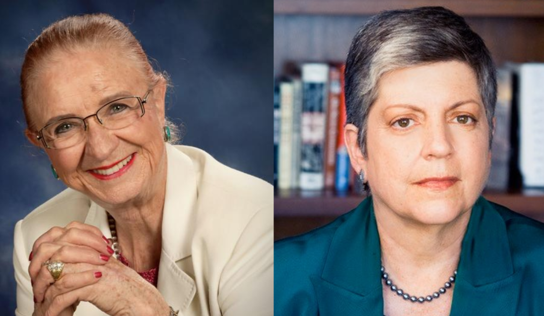 Women's History Month: Janet Napolitano and Carolyn Warner