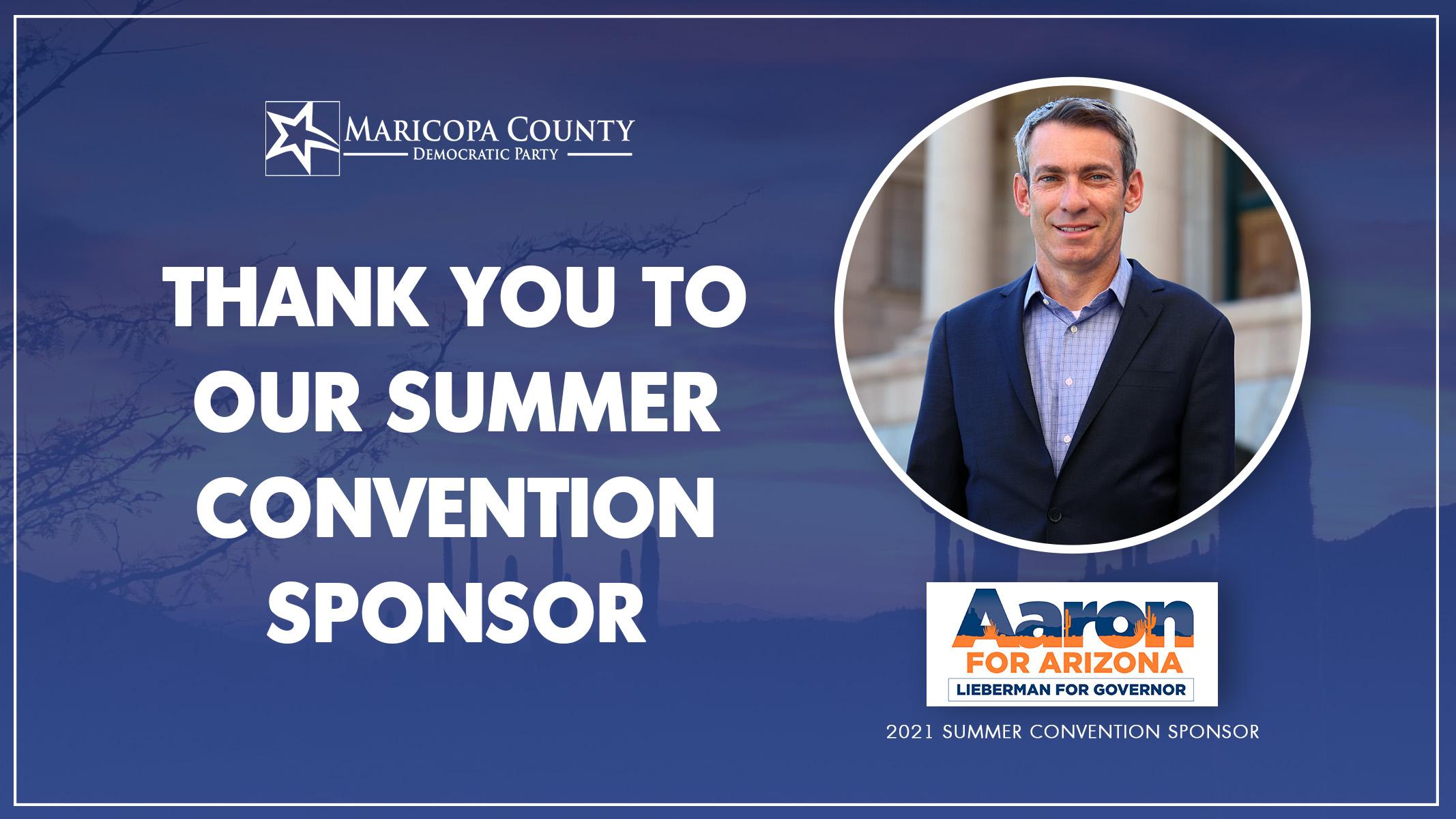 Thank You Aaron Lieberman