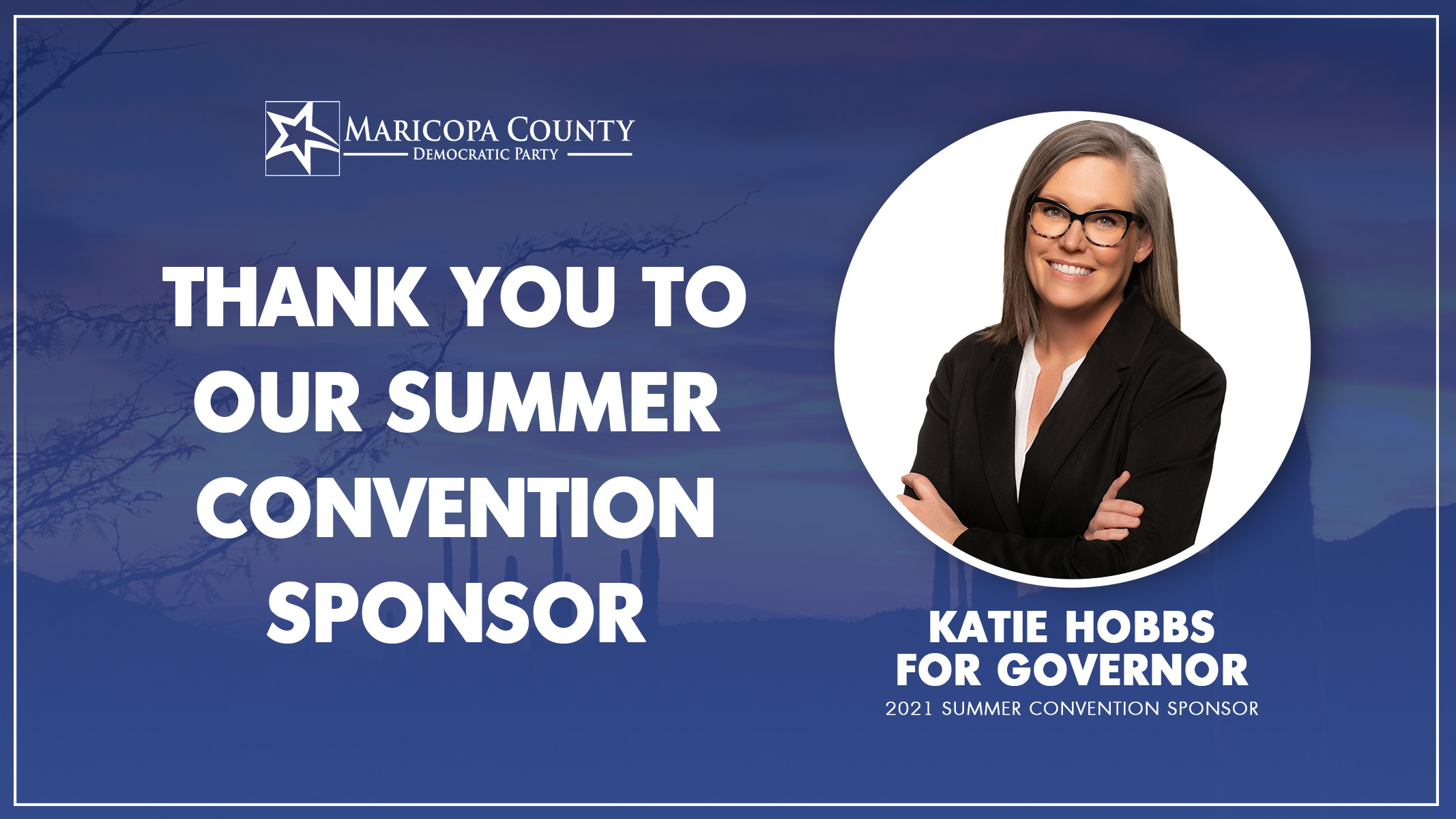 Thank you Katie Hobbs