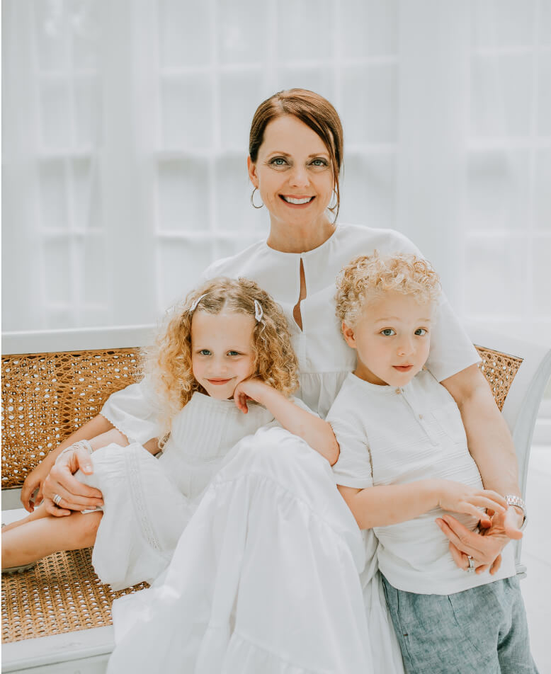 Dr shannon clark and her children