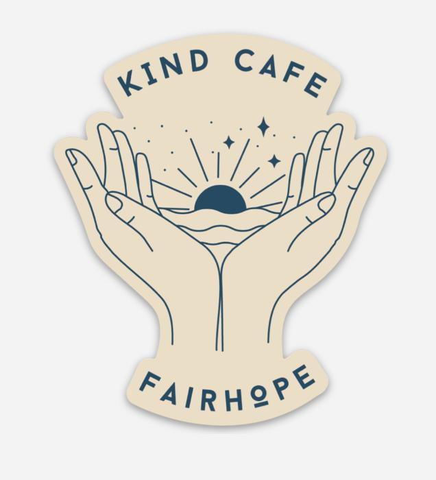 Kind Cafe Oat Sticker