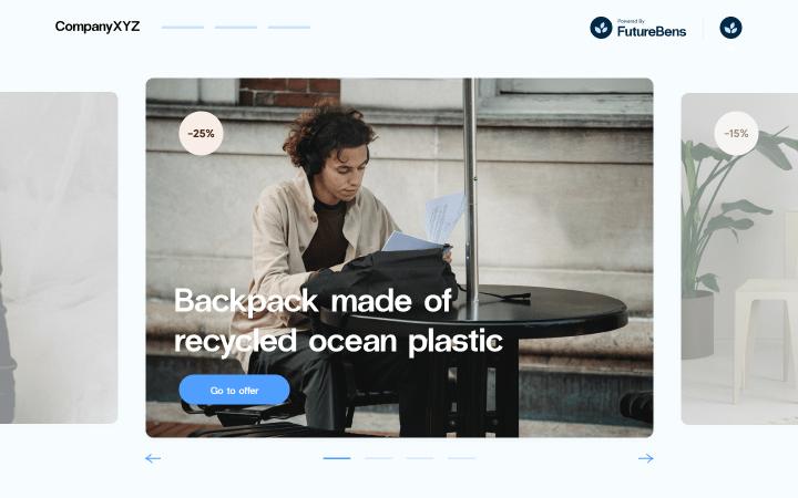 FutureBens platform screenshot