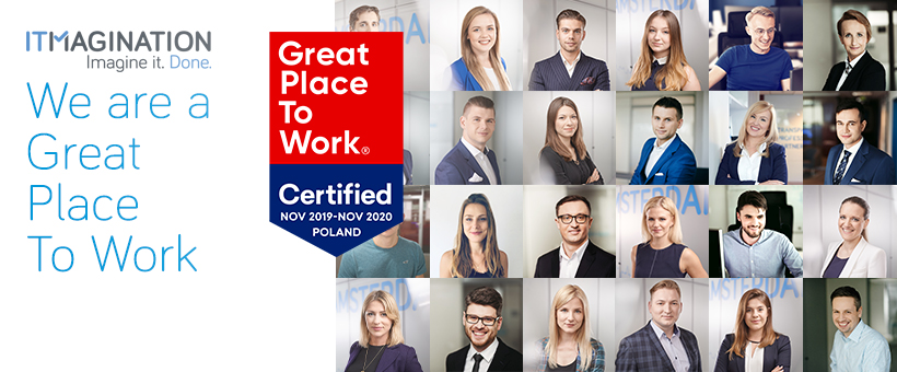"""Great Place To Work® And ITMAGINATION. What Does Being Certified By """"Great Place To Work"""" Mean?"""