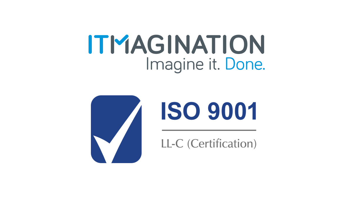 ITMAGINATION Is ISO 9001:2015 Certified