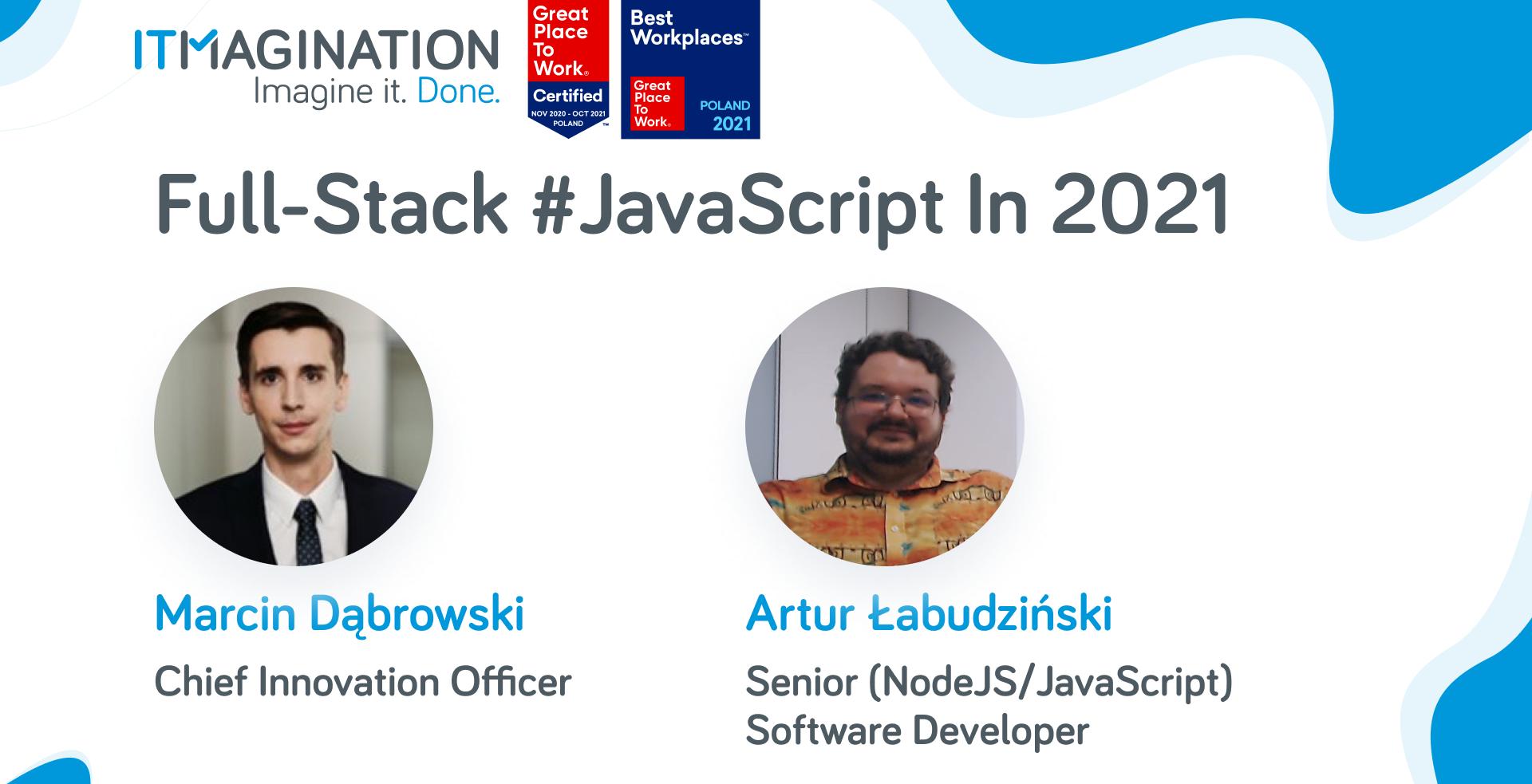 Plusy i Minusy Full-Stack JavaScript w 2021 Roku [VIDEO]