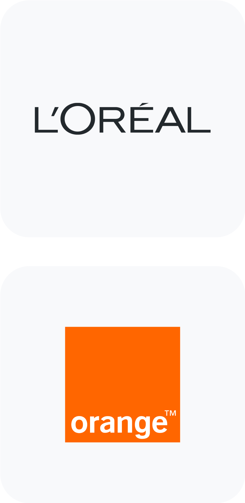 L'Oreal and Orange Clients List