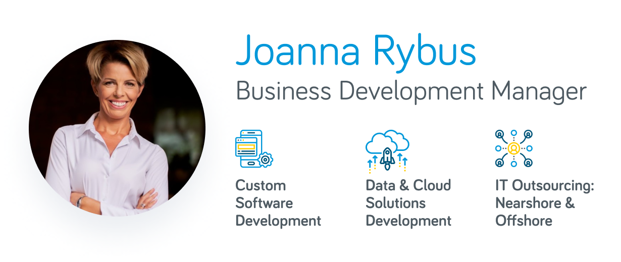 Joanna Rybus - Business Development Manager at ITMAGINATION