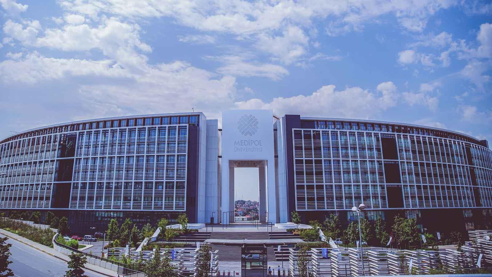 Main campus building at Istanbul Medipol University