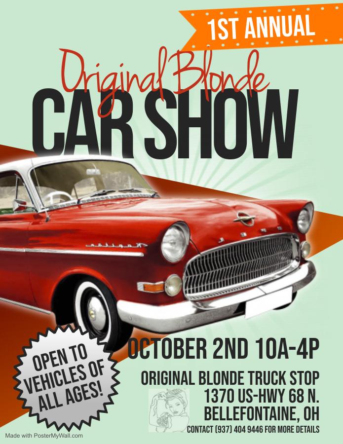 Original Blonde Car Show