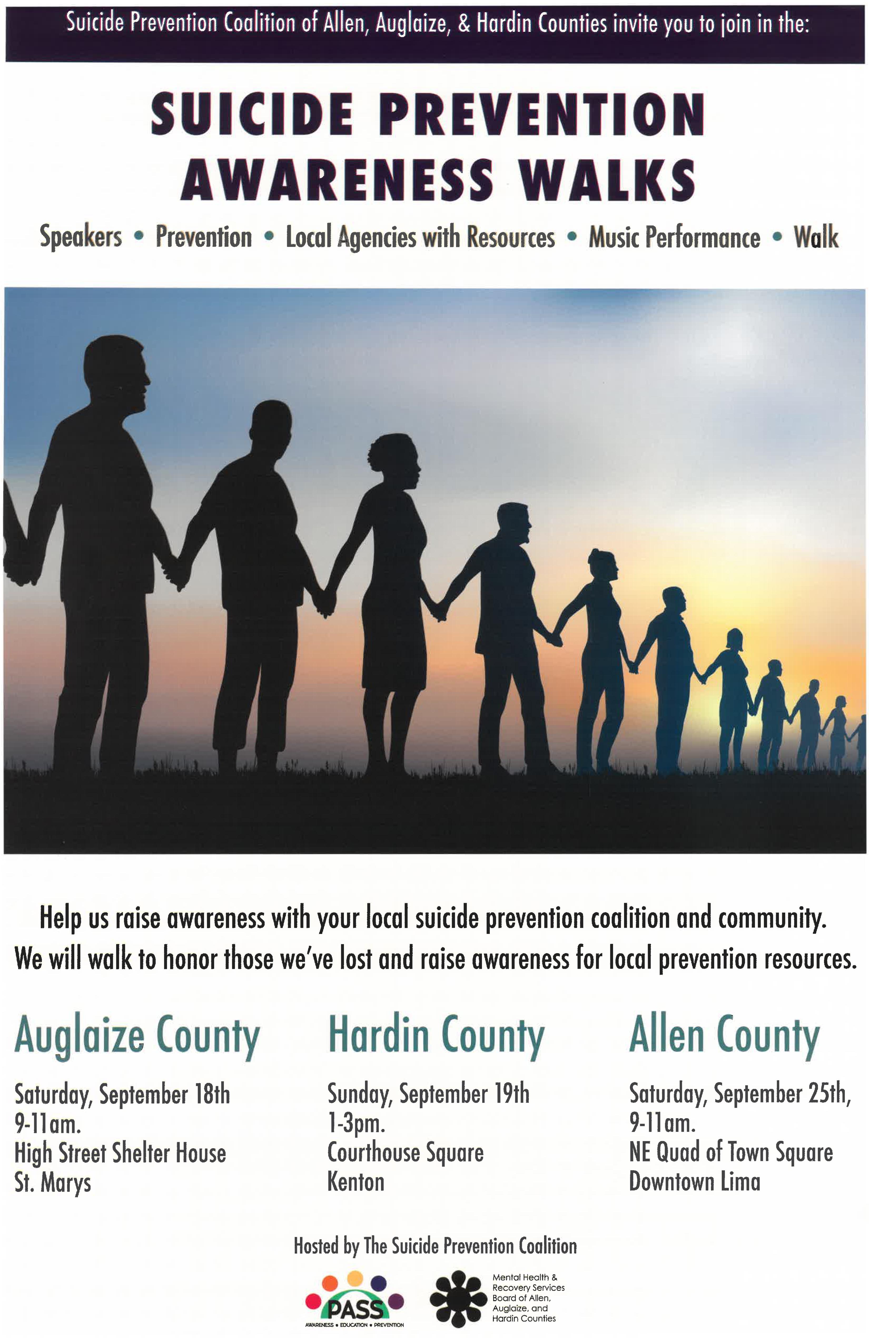 Suicide Prevention Awareness Walks