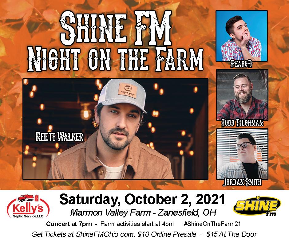 Shine FM Night on the Farm