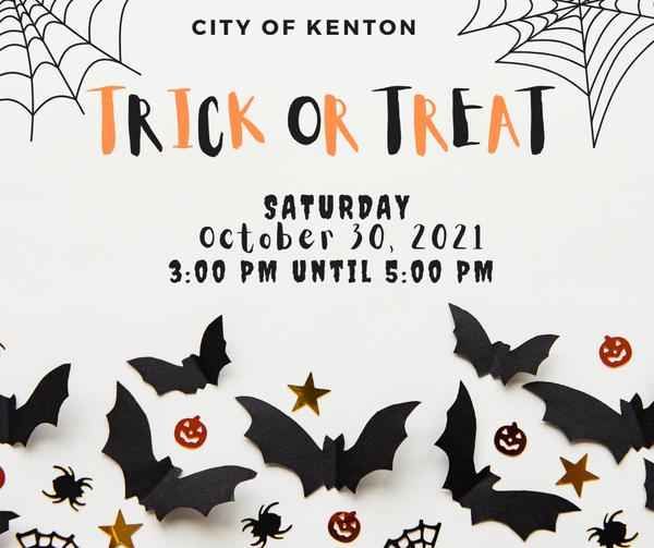 City of Kenton Trick or Treat