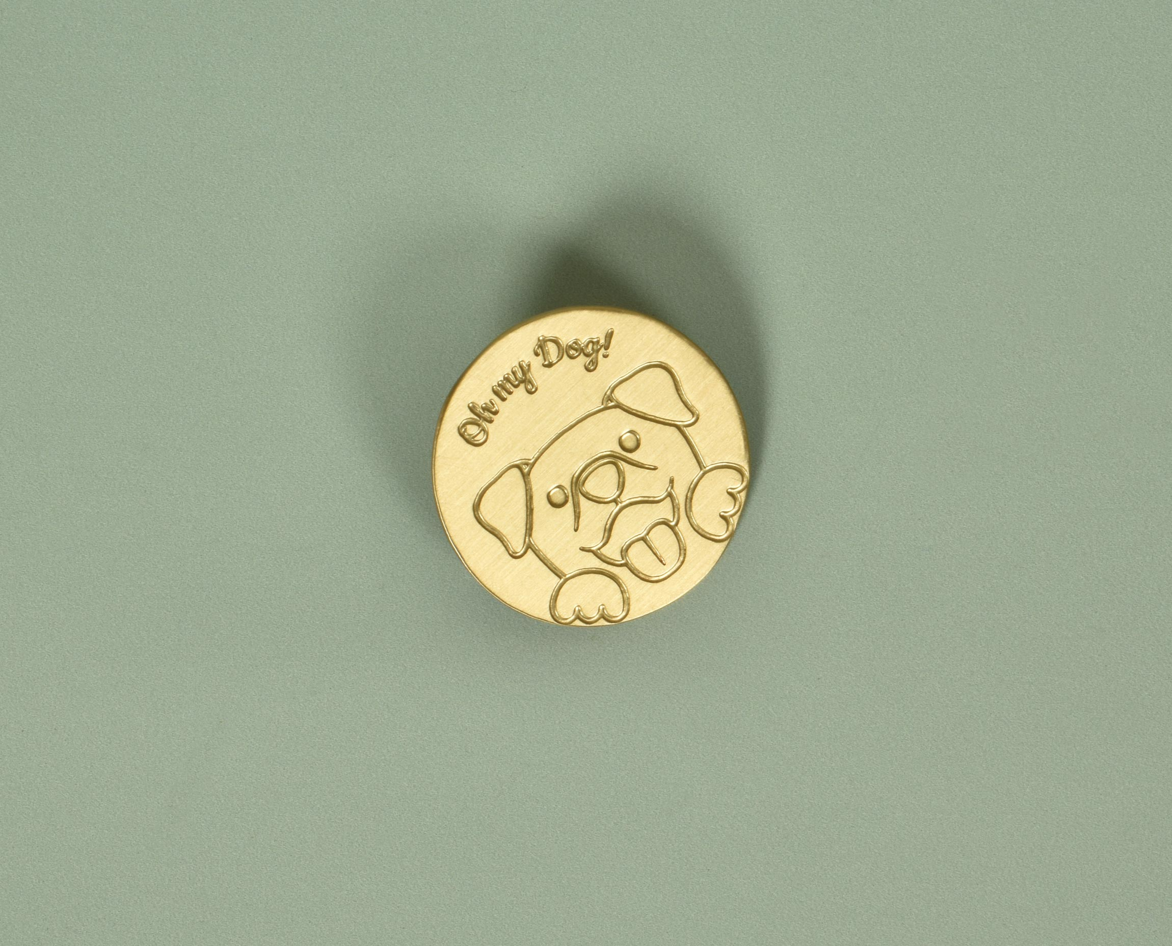 Making your pooch ready for any event or gathering is extremely fun. Here are some pawfully cute and fancy pins for your fluffy companion. These pins are made of brass and come with an easy to attach pin which makes it hassle free to peg them onto your dog's collar. You can peg this pin onto your belongings to share your proud parent moment too.