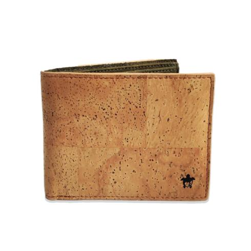 The luxurious, light-weight cork wallet is made of Nature's most Sustainable fabric- Cork and that too with an enhanced premium, super fine texture. Unlike leather, it's cruelty-free and chemical free too and yet it is water-resistant, wear and tear-resistant and ages like leather. It looks like a classic wallet but so much different. Pictures don't do enough justice to this wallet. Once you hold it, you might as well fall in love! We are not saying that. It's come from the people who have seen and own it so far! Features: 7 dedicated card slots. 6 on the front. 1 hidden card slot. Holds 10 cards easily. Could hold more 2 sections for cash Color: Tan on the outside, Green on the inside Unisex Water-proof Dust-proof & Mold-proof 1 year warranty as cork is a highly lasting material We plant 5 trees per product sold! 3325+ trees planted already.